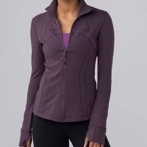 Lululemon plum define jacket